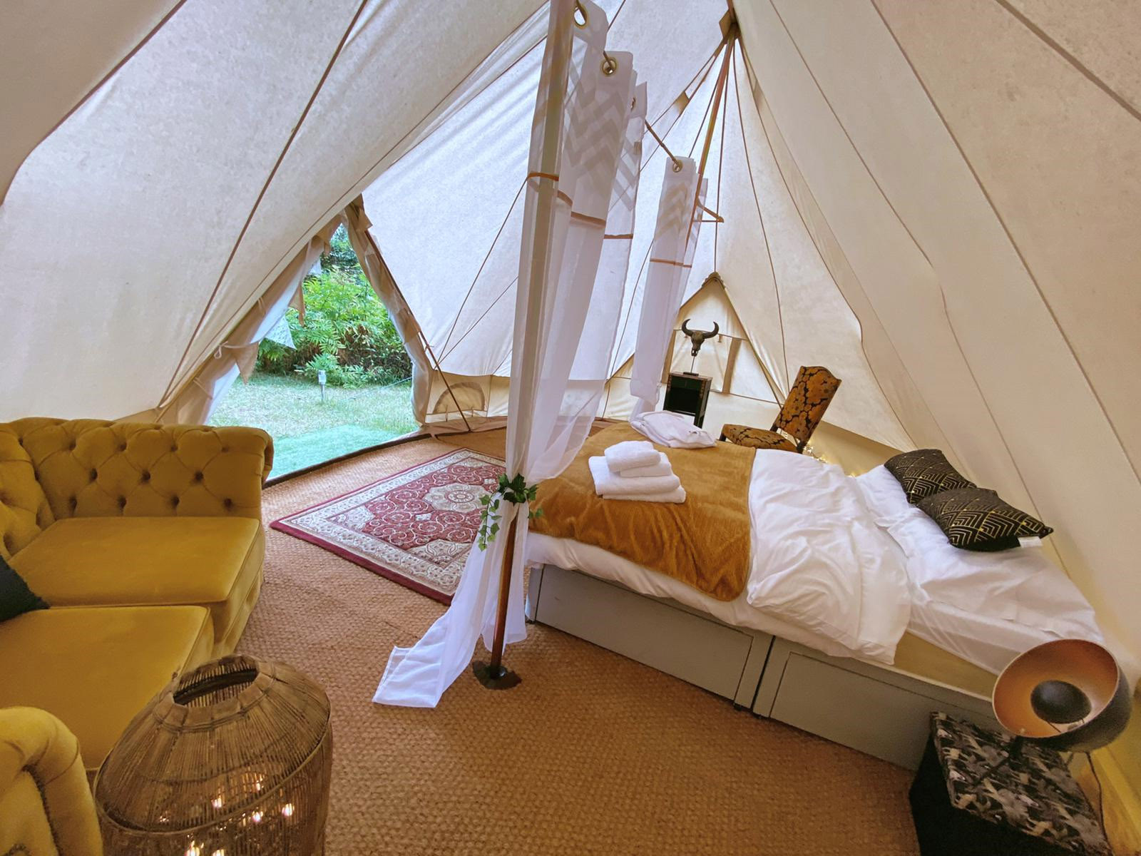 Glamping in South of France